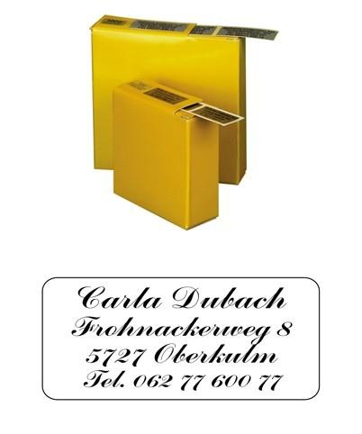 Etiketten 35x16mm Schriftart: Commercial