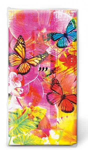 Papiertaschentuch 'Welt der Farben'