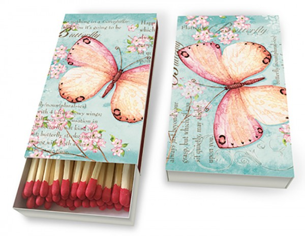 Zündholzschatel Schmetterlings Poesie