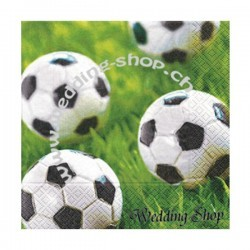 Servietten 'Go for goal', Fussball