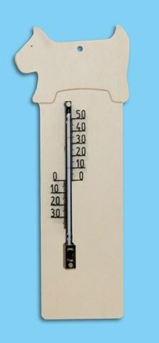 "Thermometer ""Hund"" zum bemalen"
