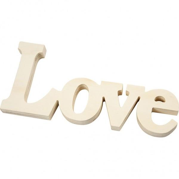 Deko Wort LOVE