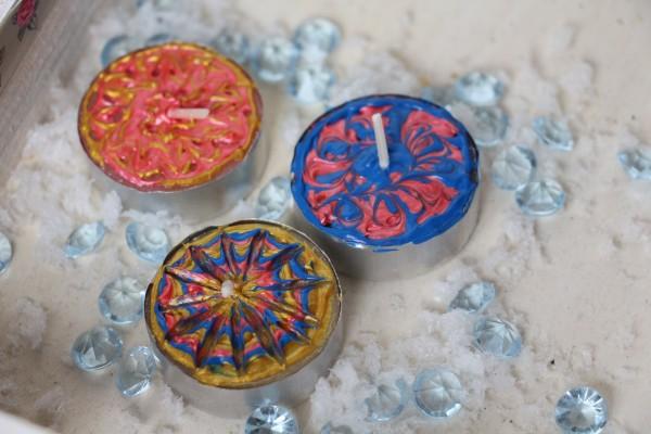 Wachsmalstifte Set mit 6 Farben à 25 ml