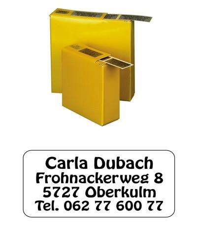 Etiketten 35x16mm Schriftart: Solothurn
