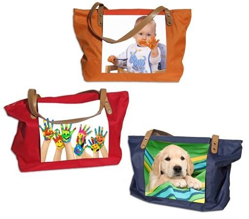 Strand- und Einkaufs Tasche in 3 verschidenen Farben