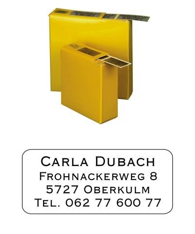 Etiketten 35x16mm Schriftart: Lugano