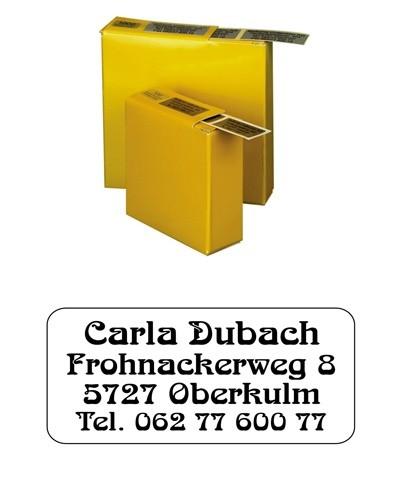 Etiketten 35x16mm Schriftart: Bellinzona
