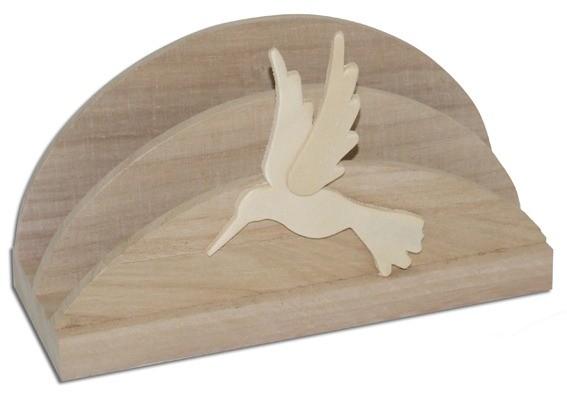 Brief- oder Serviettenhalter Kolibri