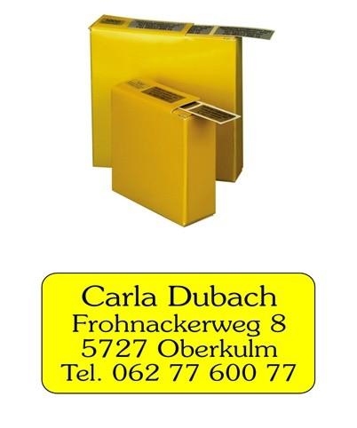Etiketten 45x20mm Schriftart: Luzern
