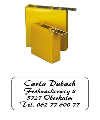 Etiketten 35x16mm Schriftart: Spreitenbach